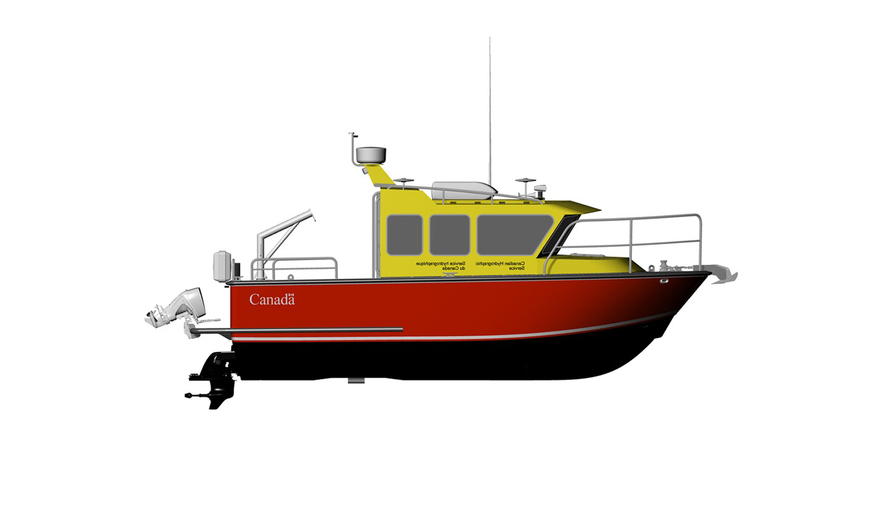 8.5m (28') Hydrographic Survey Vessel