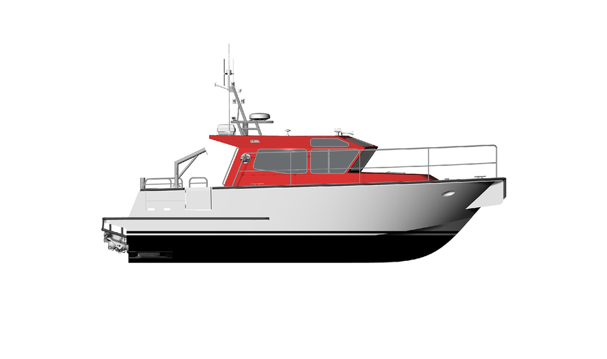 11m (35') Fisheries Boat