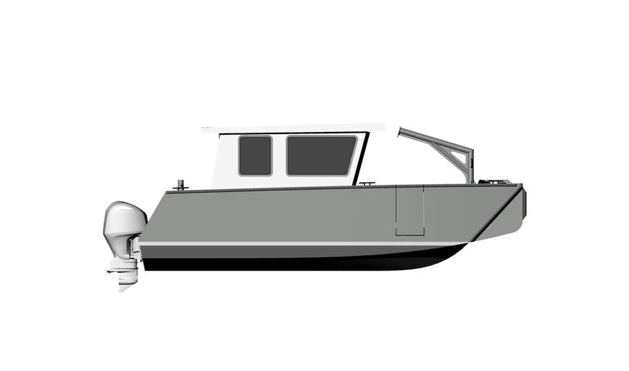 8m (26') Catamaran Landing Craft