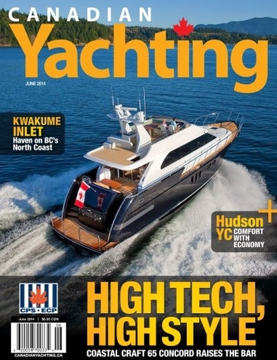 Canadian Yachting June 2014